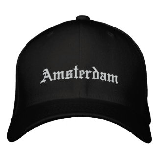Amsterdam Embroidered Hats