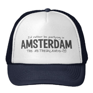 AMSTERDAM hat - choose color