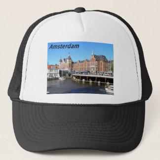 Amsterdam-the-netherlands---[kan.k] Trucker Hat
