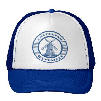 AMSTERDAM WINDMILL BLUE CAP