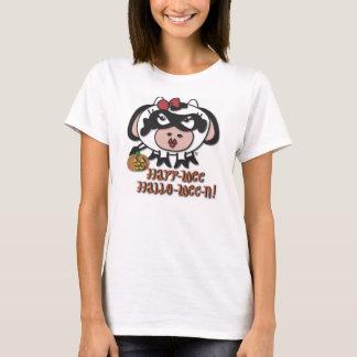 amu-wee halloween message t-shirt! T-Shirt