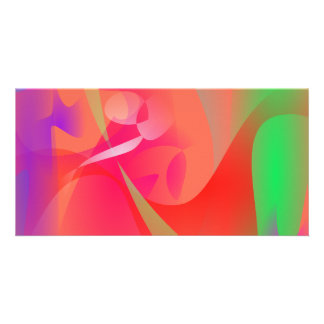 An Abstract Artist in the 1950s Art Photo Card Template