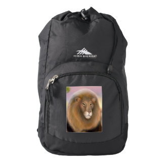 An African Lion Named Cecil Backpack