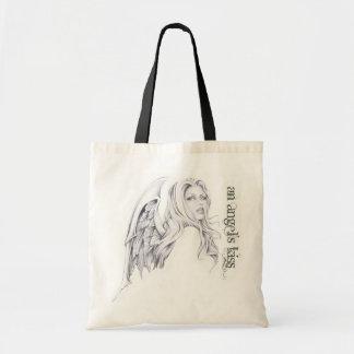 An Angel's Kiss Tote Bag