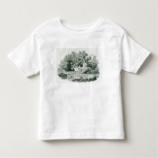An Angler in a River Pool, from 'British Toddler T-Shirt