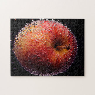 An Apple 27.9 x 35.6 photograph puzzle with gift b