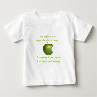 An Apple a Day Baby T-Shirt