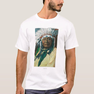 An Arapahoe Indian Chief PortraitColorado T-Shirt