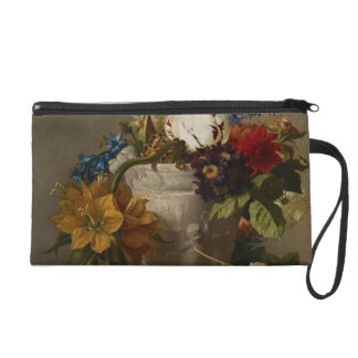 An Arrangement with Flowers, 19th century Wristlet