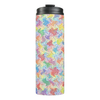 An Artist's Palette Thermal Tumbler