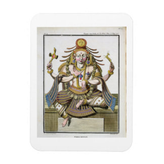 An aspect of Shiva, from 'Voyage aux Indes et a la Magnet