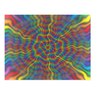 An Atomic Rainbow Postcard