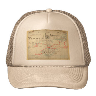 An Authentic 1690 Pirate Map (with embellishments) Cap