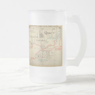 An Authentic 1690 Pirate Map (with embellishments) Coffee Mugs