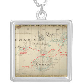 An Authentic 1690 Pirate Map (with embellishments) Custom Jewelry