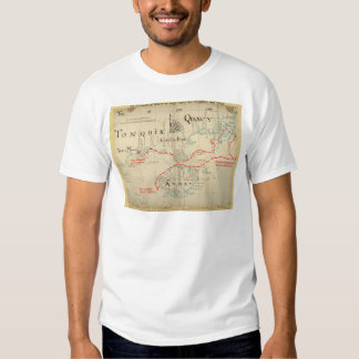 An Authentic 1690 Pirate Map (with embellishments) Tshirt