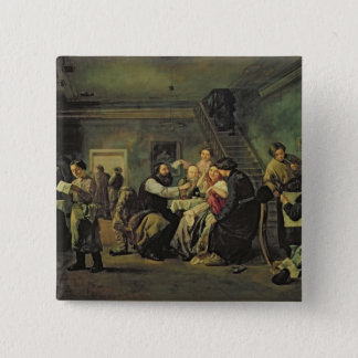 An Eating House, 1859 15 Cm Square Badge