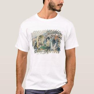 An Elegant Beach, 1887 T-Shirt