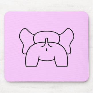 An Elephant Bottom Mouse Pad