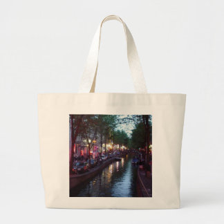 An evening in Amsterdam Tote Bag