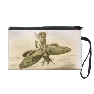 An Evening Ride, illustration from 'In Fairyland: Wristlet Clutch