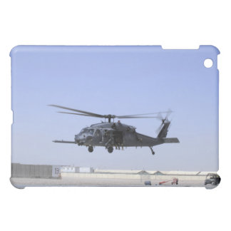 An HH-60G Pave Hawk taking off from Camp Bastio iPad Mini Cover