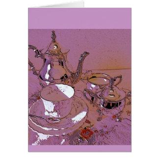 An invitation to high tea