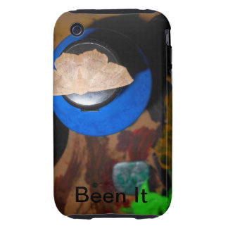 An Iphone case with a touch of original art.