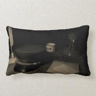 An Old Norfolk and Western Railroad Scene Pillow