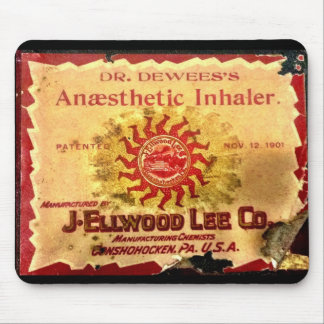 Anaesthetic Inhaler Mousepad