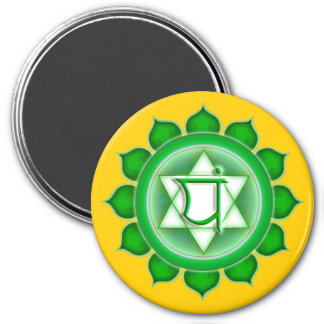 Anahata or Heart the 4th Chakra Magnet