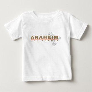 Anaheim Embroidered Look Design Baby T-Shirt