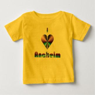 Anaheim -- Purple & Turquoise Baby T-Shirt