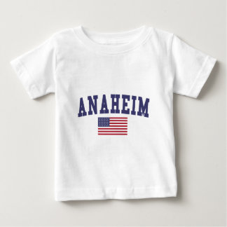 Anaheim US Flag Baby T-Shirt