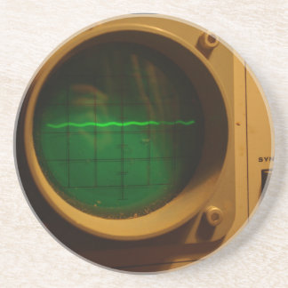Analogue Oscilloscope 1964 Drink Coaster