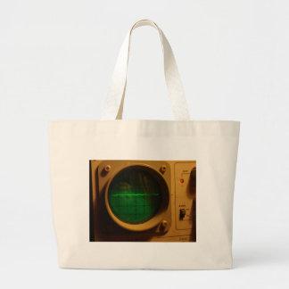 Analogue Oscilloscope 1964 Jumbo Tote Bag