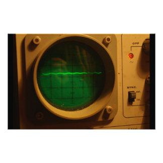 Analogue Oscilloscope 1964 Personalised Stationery