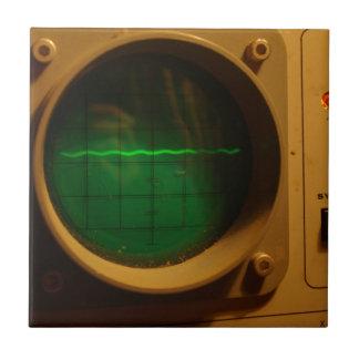 Analogue Oscilloscope 1964 Small Square Tile