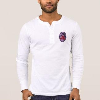 Anatomical Candy Heart Henley Shirts
