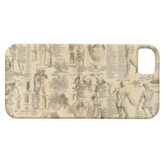 Anatomical Chart from Cyclopaedia 1728 Barely There iPhone 5 Case