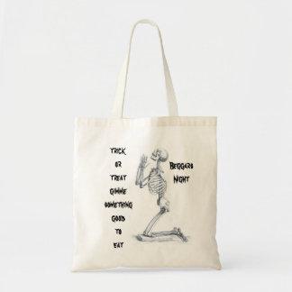 Anatomy of the Bones trick or treat tote Bag