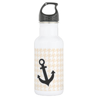 Anchor; Antique White Houndstooth 532 Ml Water Bottle