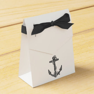 Anchor Custom Wedding Party Favour gift bags Favour Box