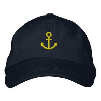 Anchor Embroidered Baseball Caps