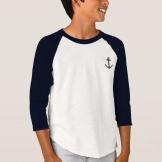Anchor Kid's Unisex Raglan T-Shirt