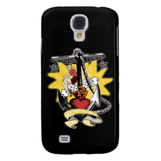 Anchor Pinup Samsung Galaxy S4 Cases