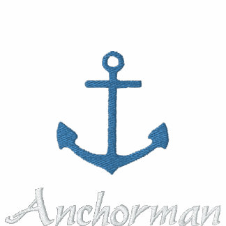 Anchorman Embroidered Polo