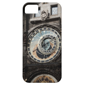 Ancient Astrology Timepiece Clock in Prague Czech Case For The iPhone 5