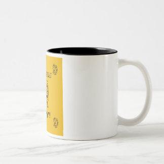 Ancient Chinese Secret Two-Tone Coffee Mug