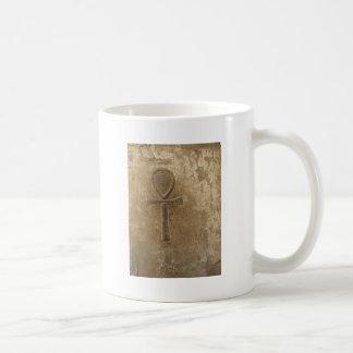 Ancient Egyptian Ankh, Key of Life Basic White Mug